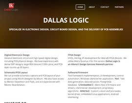 #2 untuk Design a Website Mockup for Dallas Logic Corporation oleh OGW