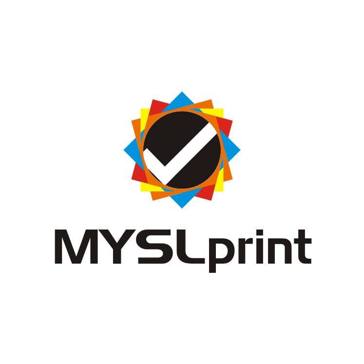 """Bài tham dự cuộc thi #7 cho Design a Logo for PRINTING company """"MYSLprint"""""""