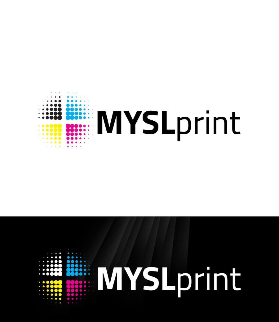 """Bài tham dự cuộc thi #17 cho Design a Logo for PRINTING company """"MYSLprint"""""""