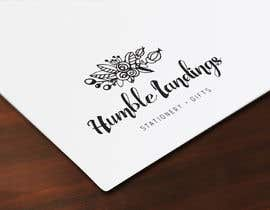 LadyLaszarus tarafından Logo Design for Humble Landings Stationery + Gifts için no 85