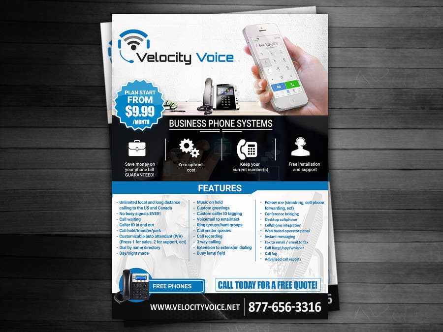 Entry #19 by adidoank123 for Design a Digital Flyer for Business