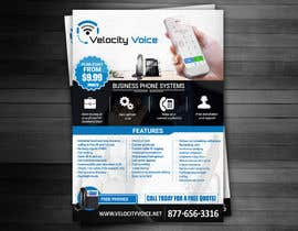 #19 for Design a Digital Flyer for Business Phone Service Provider - Velocity Voice by adidoank123