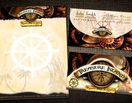 #76 for Business Card Design for Treasure Island Resort Wear & Gifts by chiinii