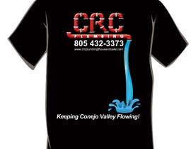 creativeOleg tarafından Water Design T-Shirt için no 11