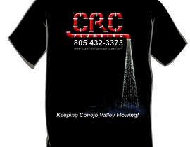hmzajmal tarafından Water Design T-Shirt için no 5