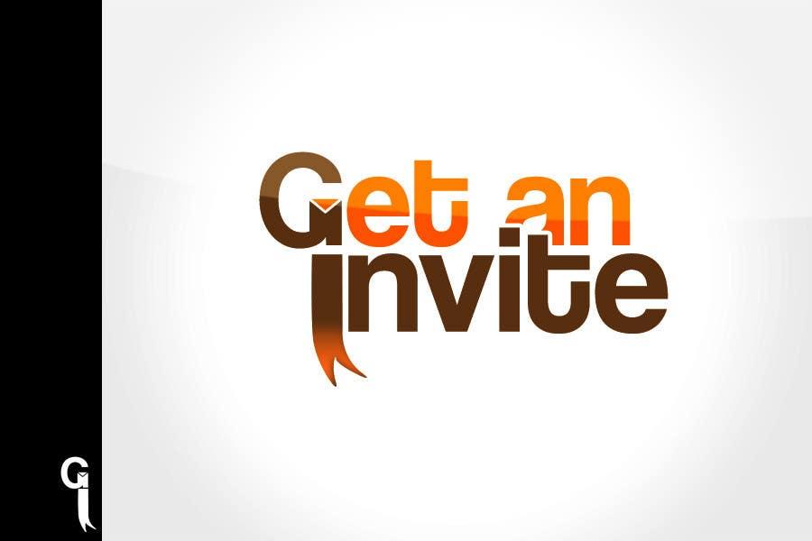 Inscrição nº 170 do Concurso para Logo Design for GetAnInvite