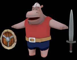 Nro 23 kilpailuun 3D character modeling, cute animal warrior character käyttäjältä micahalver90