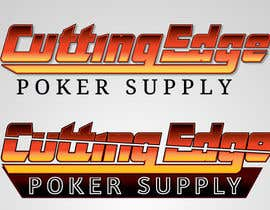 "nº 45 pour Design a Logo for ""Cutting Edge Poker Supply"" par BeetleGraphics"