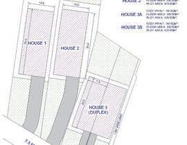 Nro 5 kilpailuun Residential Site Plan käyttäjältä jimdsouza1