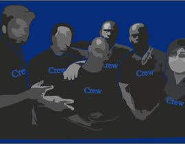 nº 27 pour Silhouette of the Crew par bichirm