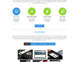 #17 untuk Design a Website Mockup for I.T. Consulting/Development company oleh shabcreation