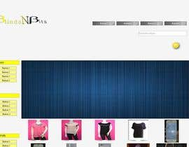 nº 9 pour eCommerce website design and logo par melquidez