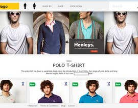 #1 para eCommerce website design and logo por mayurrokade