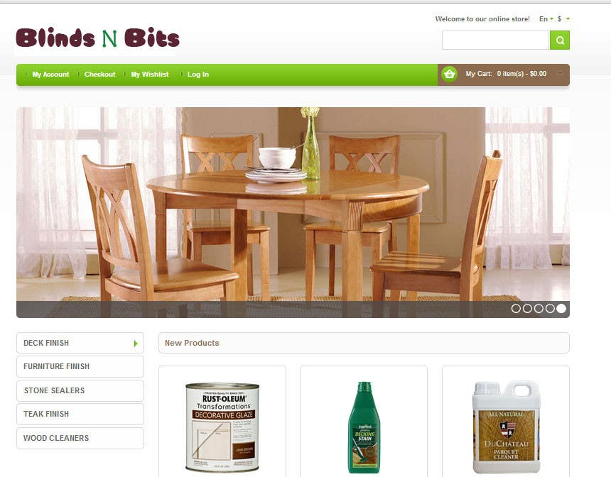 #2 for eCommerce website design and logo by asrafali8