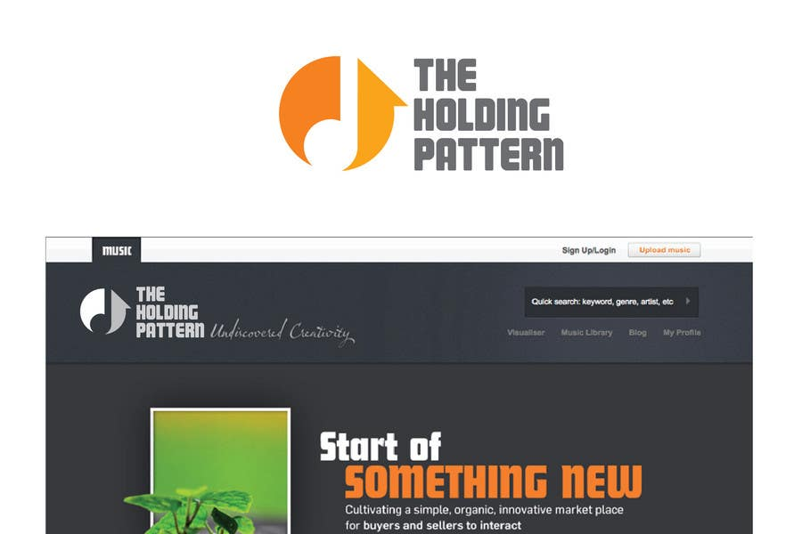 #76 for Logo Design for The Holding Pattern by emilymwh