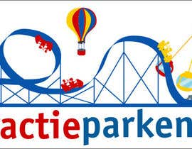 #70 for Create a logo containing a Rollercoaster for a Amusement Parc website by obrejaiulian