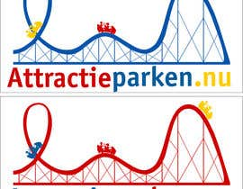 #71 for Create a logo containing a Rollercoaster for a Amusement Parc website by obrejaiulian