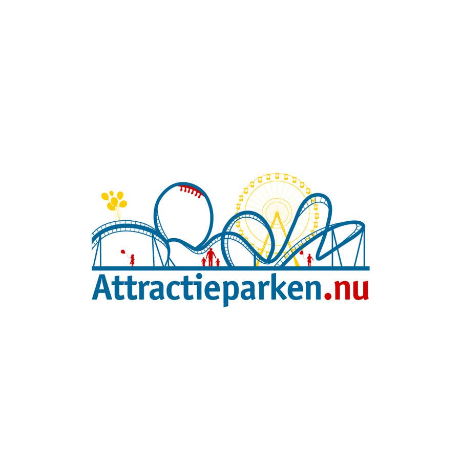 Contest Entry #78 for Create a logo containing a Rollercoaster for a Amusement Parc website
