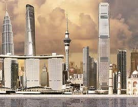 #14 for Skyline image of iconic Asia Pacifirc Buildings by ryabtsov