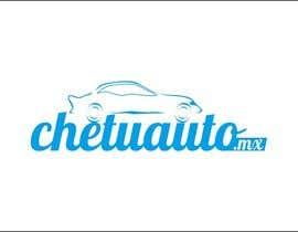 Nro 10 kilpailuun Diseñar un logotipo for chetuauto.mx käyttäjältä moro2707