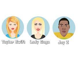 Nro 10 kilpailuun Celebrity Emoji Design käyttäjältä Christina850