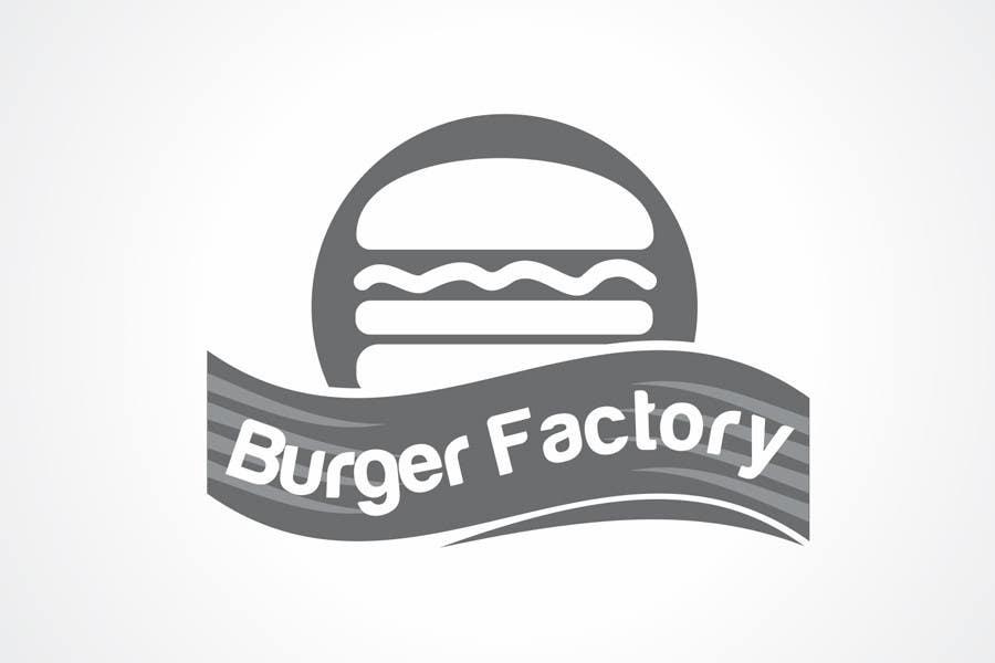Kilpailutyö #298 kilpailussa Logo Design for Burger Factory
