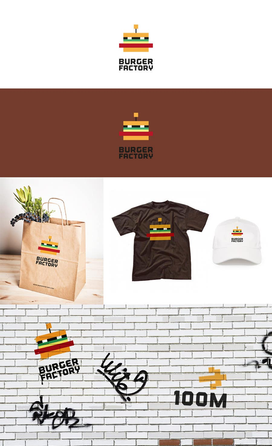 #86 for Logo Design for Burger Factory by GLADHEAD