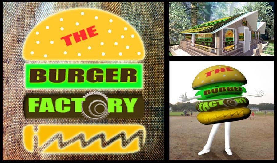 Конкурсная заявка №309 для Logo Design for Burger Factory