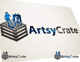 #33 para Design a Logo for ArtsyCrate por tobyquijano