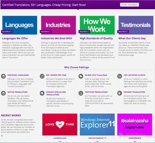 #8 for 10 Page Wordpress Website for an English Teacher Training Company by vkymunir