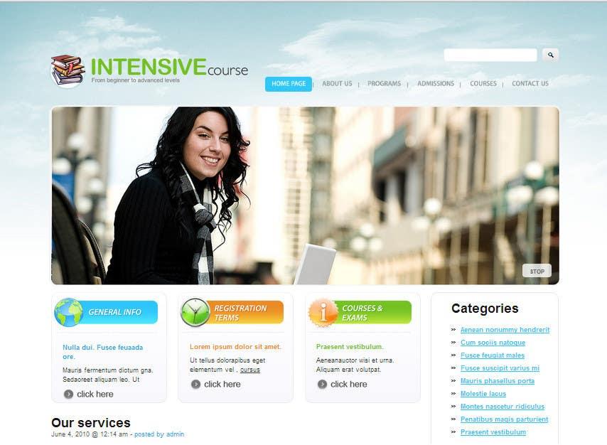#3 for 10 Page Wordpress Website for an English Teacher Training Company by HiyaroySeo
