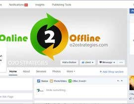 #9 for Design a Facebook Banner for: Online2Offline Strategies by ronit7pencils