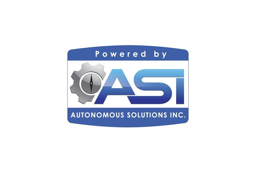 Konkurrenceindlæg #                                        51                                      for                                         Sticker/Badge design for Robotics Company (ASI)
