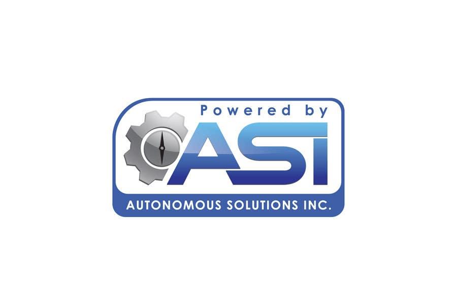 Konkurrenceindlæg #                                        49                                      for                                         Sticker/Badge design for Robotics Company (ASI)