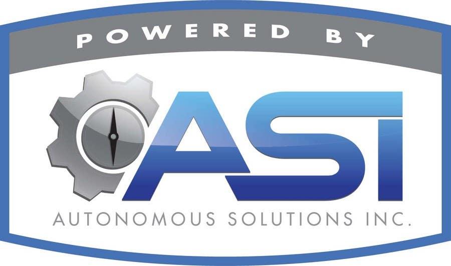 Konkurrenceindlæg #                                        59                                      for                                         Sticker/Badge design for Robotics Company (ASI)