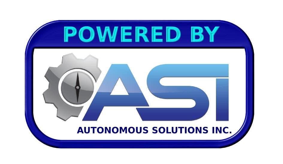 Konkurrenceindlæg #                                        102                                      for                                         Sticker/Badge design for Robotics Company (ASI)