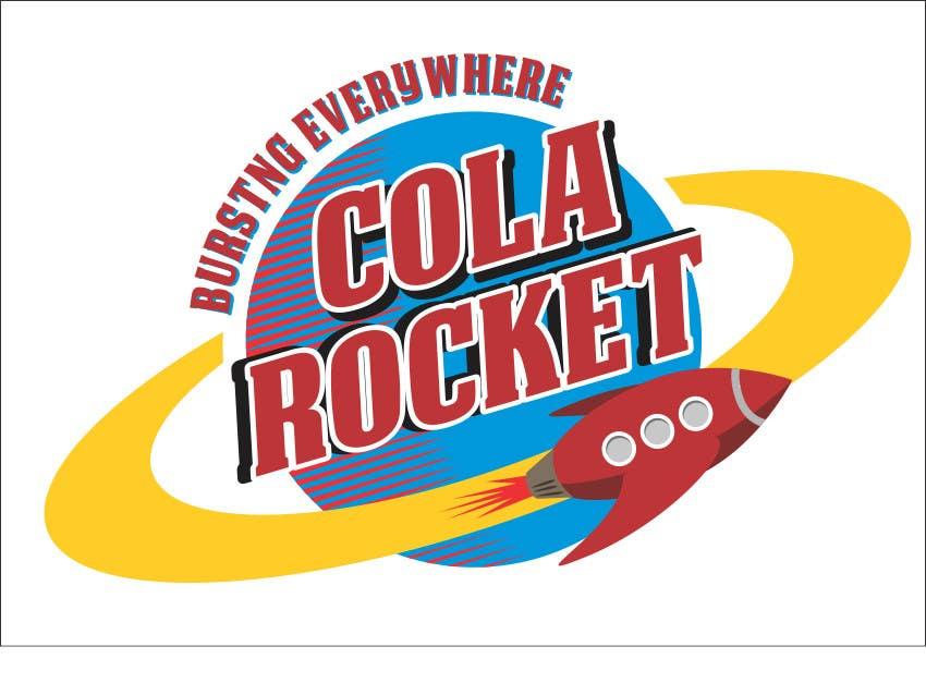 Penyertaan Peraduan #                                        39                                      untuk                                         Design a Logo for Cola Rocket
