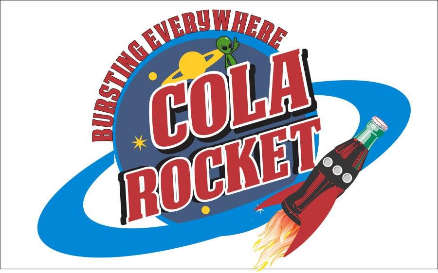 Penyertaan Peraduan #                                        41                                      untuk                                         Design a Logo for Cola Rocket