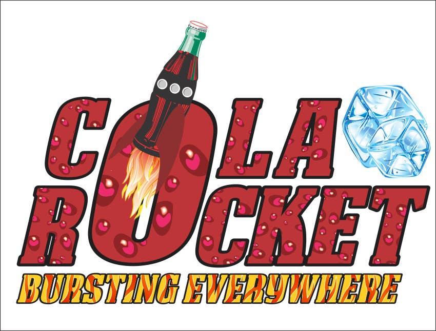 Penyertaan Peraduan #                                        44                                      untuk                                         Design a Logo for Cola Rocket