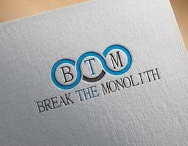 Khandesign11 tarafından Design a logo for Break The Monolith için no 53