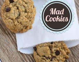 #129 for Design a Logo for Cookie Business CORRECTION: MAD COOKIES by FossilPixel