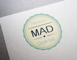 #126 para Design a Logo for Cookie Business CORRECTION: MAD COOKIES por PavelStefan