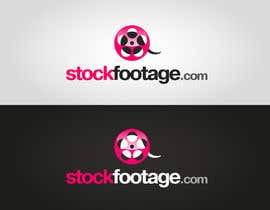 #5 para Logo Design for A website: StockFootage.com por logoflair