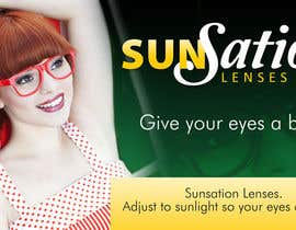 #39 for Design an Advertisement for Sunsation Lenses by designna