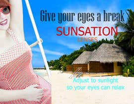 #5 para Design an Advertisement for Sunsation Lenses por thisara11