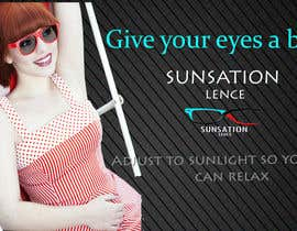 #6 para Design an Advertisement for Sunsation Lenses por thisara11
