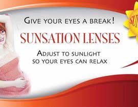 #33 for Design an Advertisement for Sunsation Lenses by ecox11
