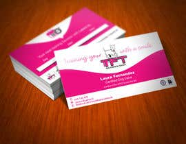 Nro 101 kilpailuun Design some Business Cards for a dog training business käyttäjältä FlexKreative