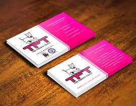pointlesspixels tarafından Design some Business Cards for a dog training business için no 33