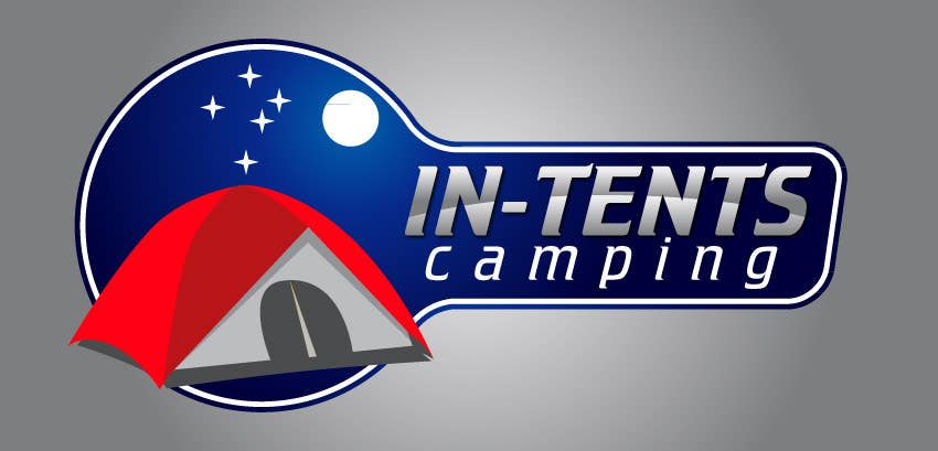 Proposition n°                                        65                                      du concours                                         Logo Design for In-Tents Camping
